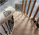 MRD Miilshop Custom Staircase Spiral Curved Open